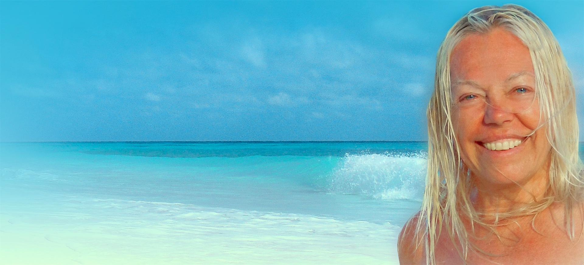 Soy una novelista viajera viviendo en una isla mágica…